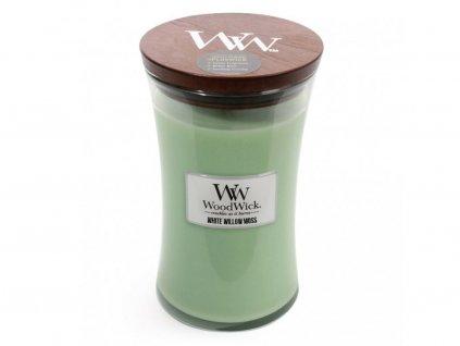 Svíčka WoodWick White Willow Moss Vrba a Mech 609,5g velká