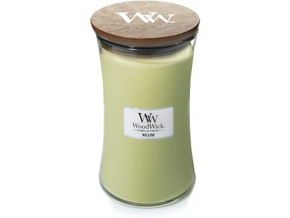 Svíčka WoodWick Willow - Vrbové Květy 609,5g velká
