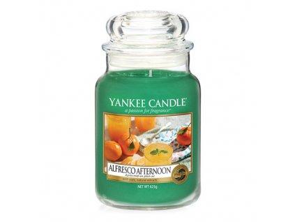 Svíčka Yankee Candle Alfresco Afternoon Odpolední piknik 623g velká