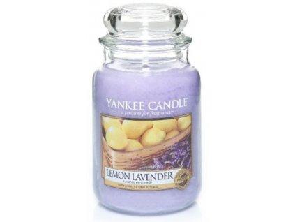 Svíčka Yankee Candle Lemon Lavender Citron a Levandule 623g velká