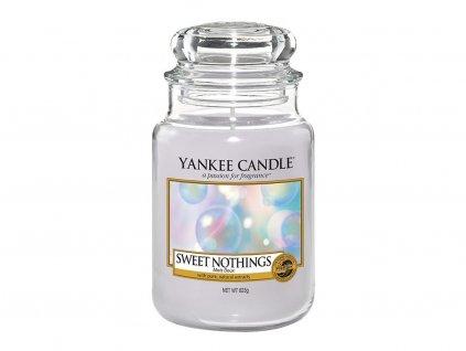 Svíčka Yankee Candle Sweet Nothings - Sladké Nic 623g velká
