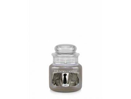 Svíčka Country Candle Grey 104g malá