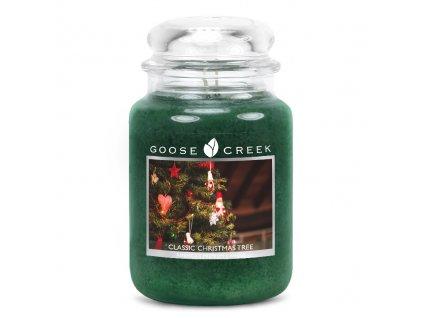 Svíčka Goose Creek Classic Christmas Tree Vánoční Stromek 680g velká
