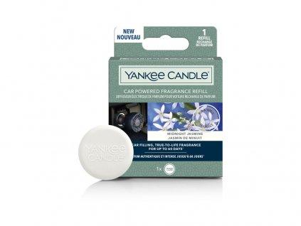 Yankee Candle Car Powered Fragrance Refill Midnight Jasmine Půlnoční Jasmín Náhradní Náplň Do Elektrického Difuzéru Auta 1 ks
