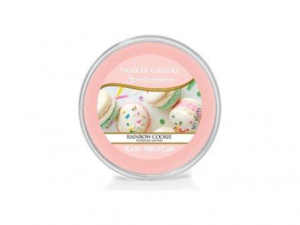 Vonný Vosk Yankee Candle Scenterpiece Easy MeltCup Wax Rainbow Cookie Duhové Makronky Kalíšek Do Elektrické Aromalampy 61g