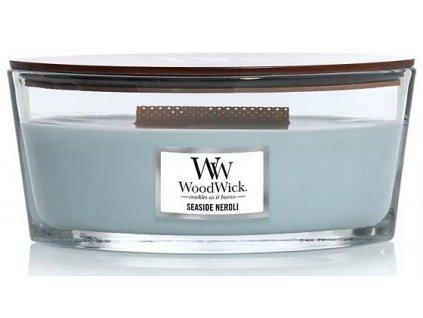 Svíčka WoodWick Seaside Neroli Pobřežní Neroli 453,6g lodička