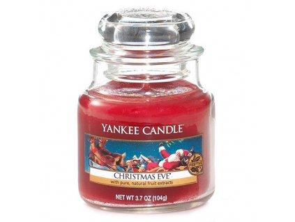 Svíčka Yankee Candle Christmas Eve Štědrý Večer 104g malá