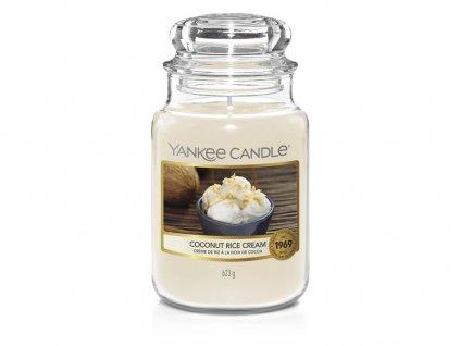 Svíčka Yankee Candle Coconut Rice Cream Krém s kokosovou rýží 623g velká