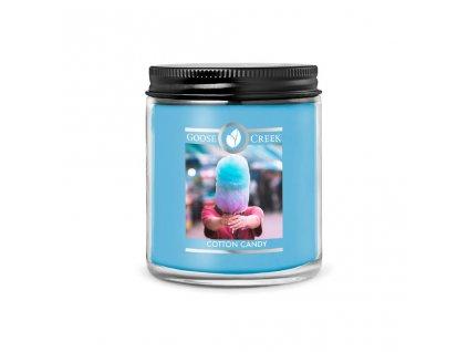 Svíčka Goose Creek Cotton Candy Cukrová Vata 198g malá