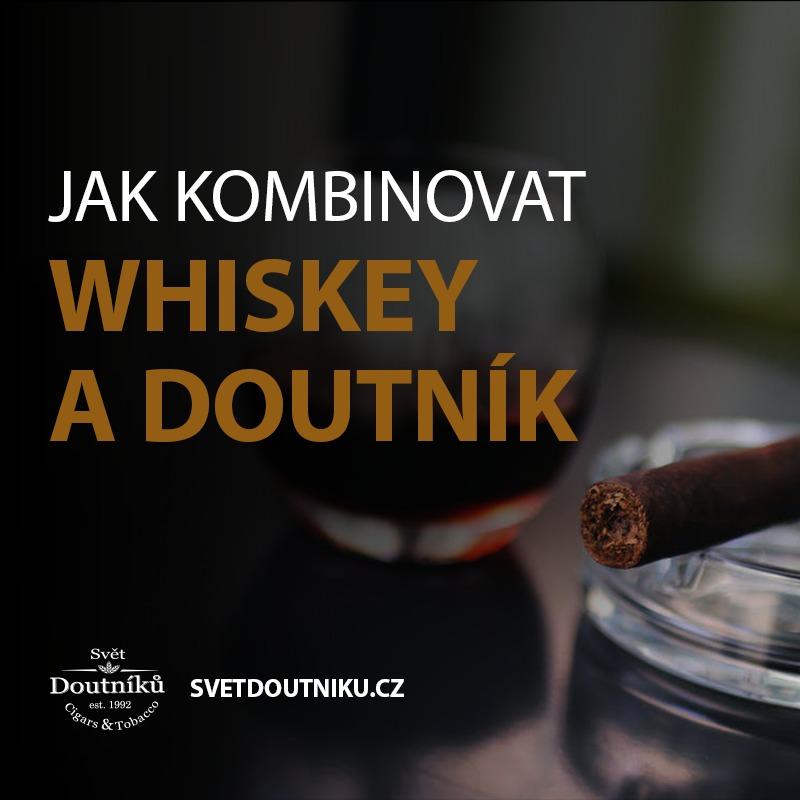Jak kombinovat whisky a doutník?