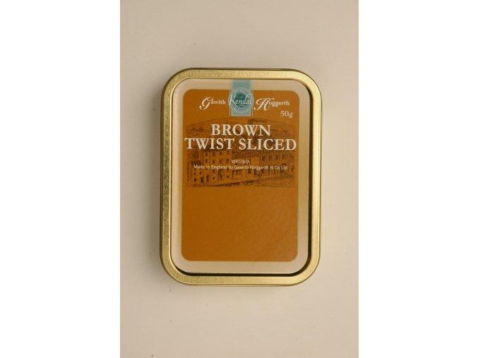 Gawith Hoggarth Brown Twist Sliced (Gramáž 10g)