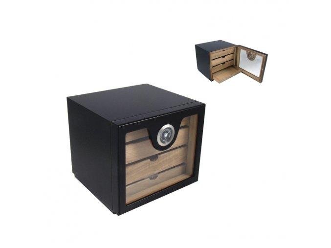 1848 humidor 60d cabinet black