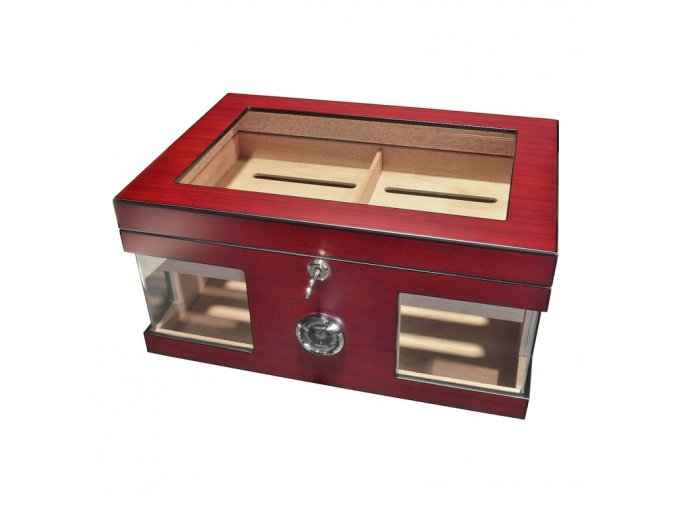 1899 humidor 50d safe red