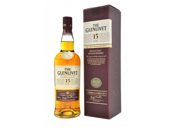 3153 glenlivet 15 yo french oak reserve 0 7 l