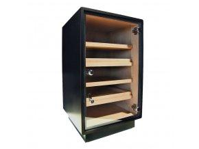 Humidor Cabinet Black 150D