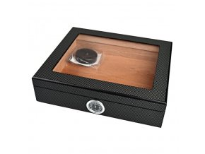 1794 humidor 25d carbon glass