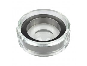 2466 popelnik skleneny 2d chrom