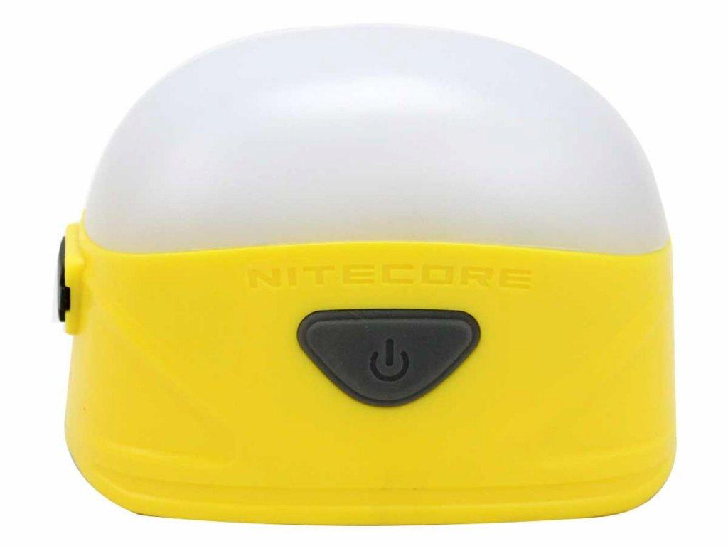 Nitecore -  LED Kempingová lampa NITECORE - LA30 / Žltá