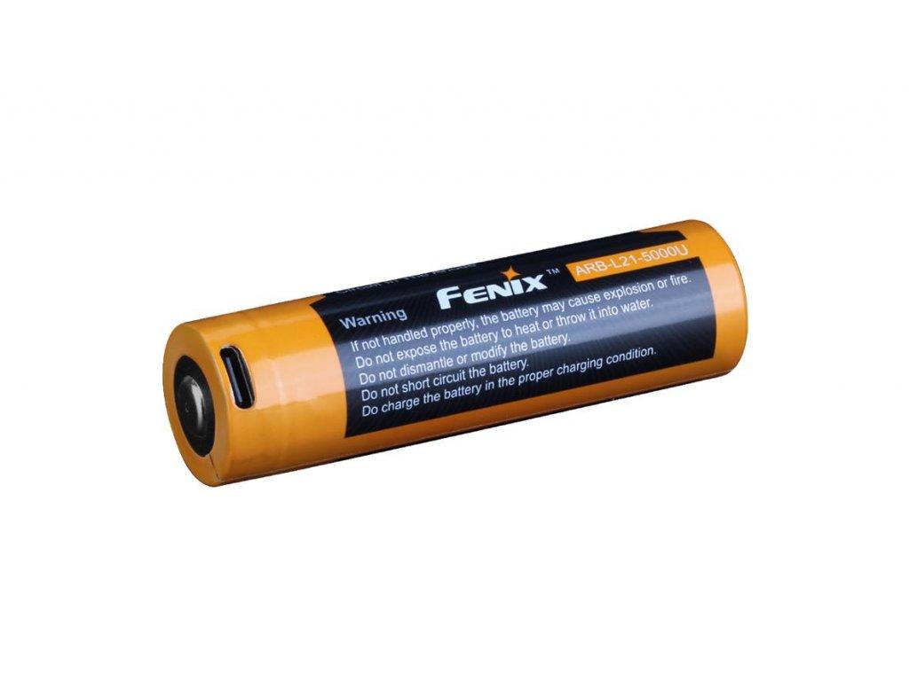 FENIX -  Akumulátor Fenix 21700 5000 mAh (Li-Ion) nabíjateľný cez USB-C