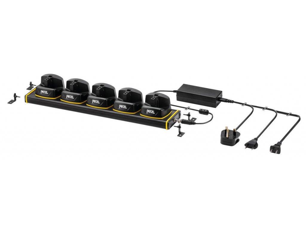 PETZL -  PETZL 5 Duo Z1 charging rack
