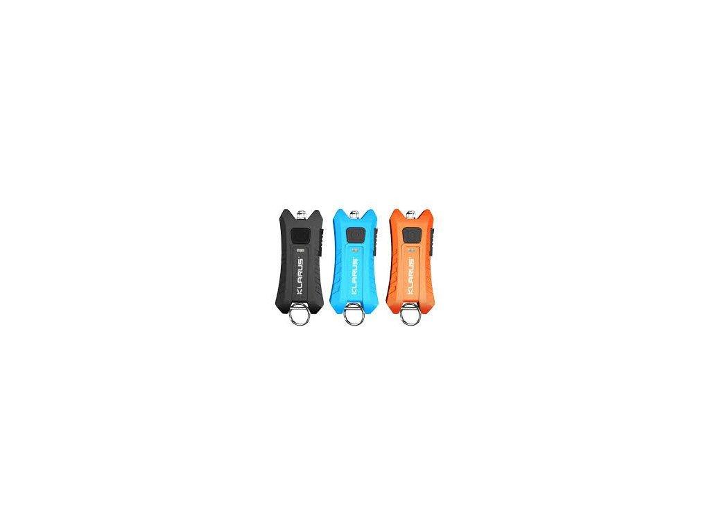 Klarus -  USB Nabíjateľná LED kľúčenka KLARUS Mi2+ akumulátor Li-ion