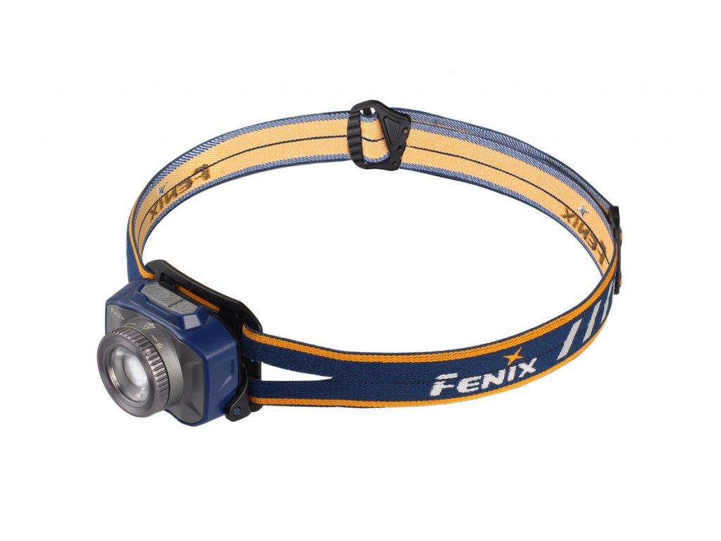 Nabíjateľná zaostrovacia čelovka Fenix HL40R - modrá