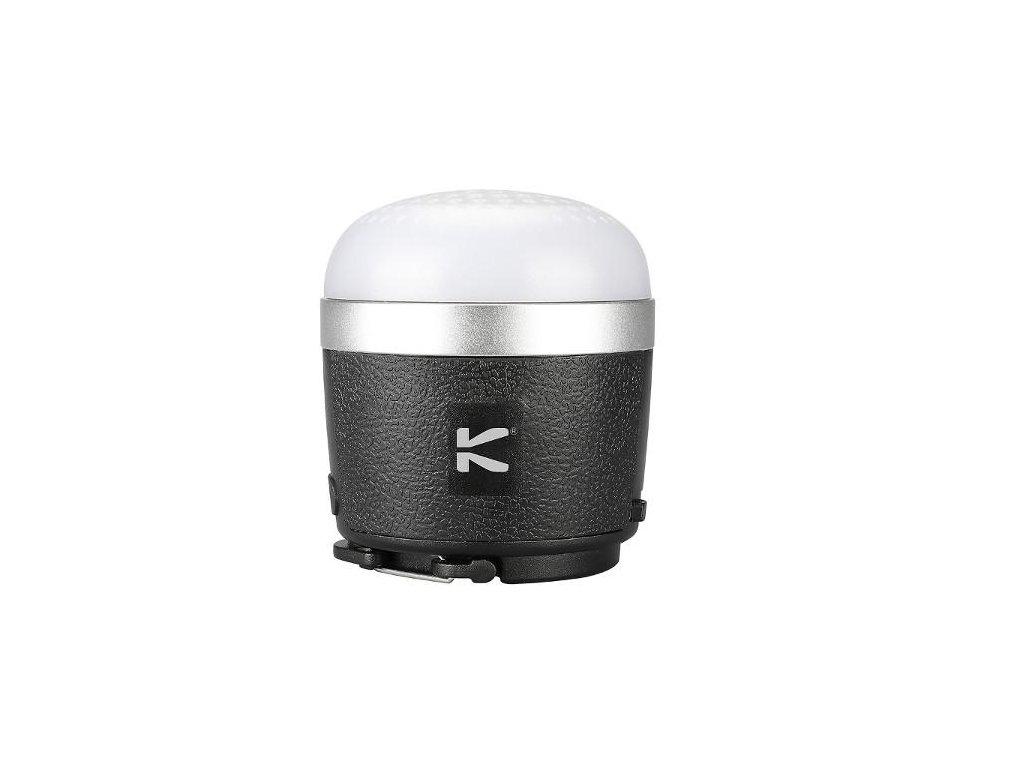 Klarus -  Kempingová 3v1 LED lampa 390LM, Bluetooth 4.0 HIFI reproduktor s Powerbank Klarus CL1