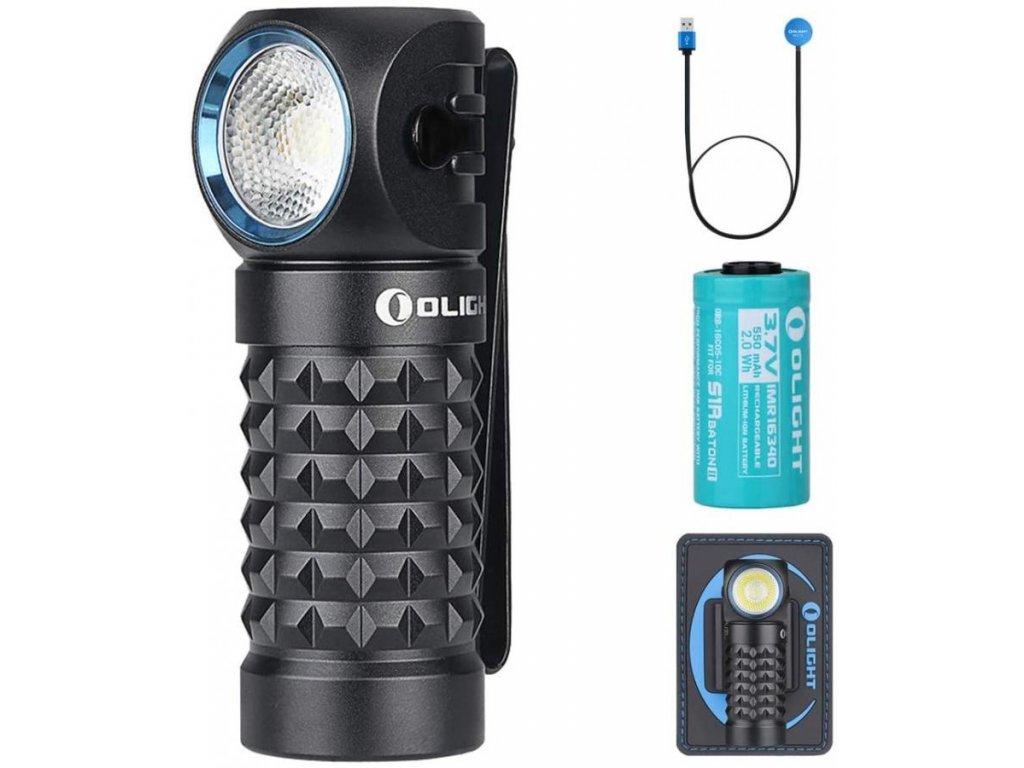 Olight -  Nabíjateľná LED čelovka Olight Perun mini 1000 lm