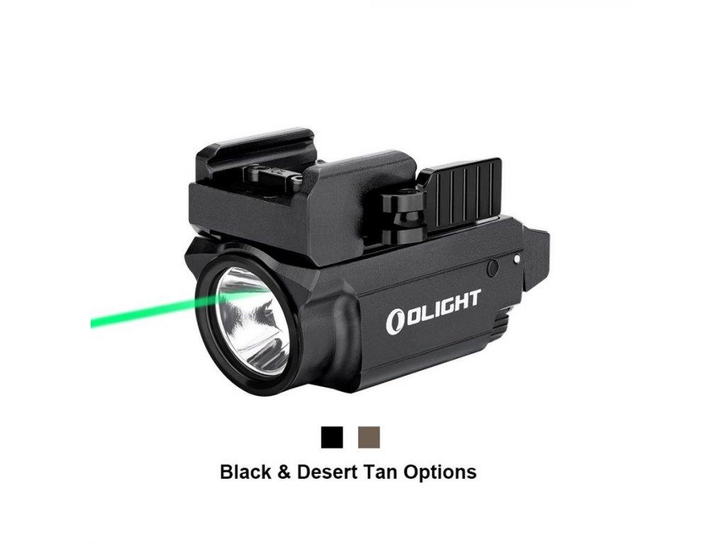 Olight -  Svetlo na zbraň Olight Baldr Mini 600 lm - zelený laser