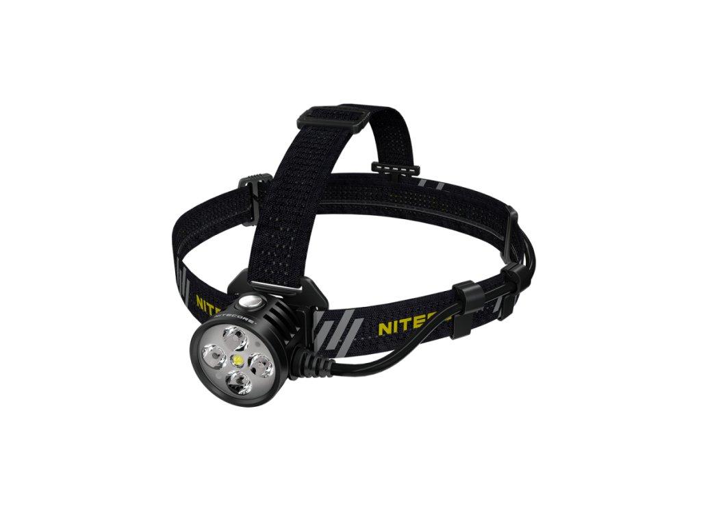 Nitecore -  LED Čelovka NITECORE HU60, s výstupom LED 1600LM + USB nabíjanie
