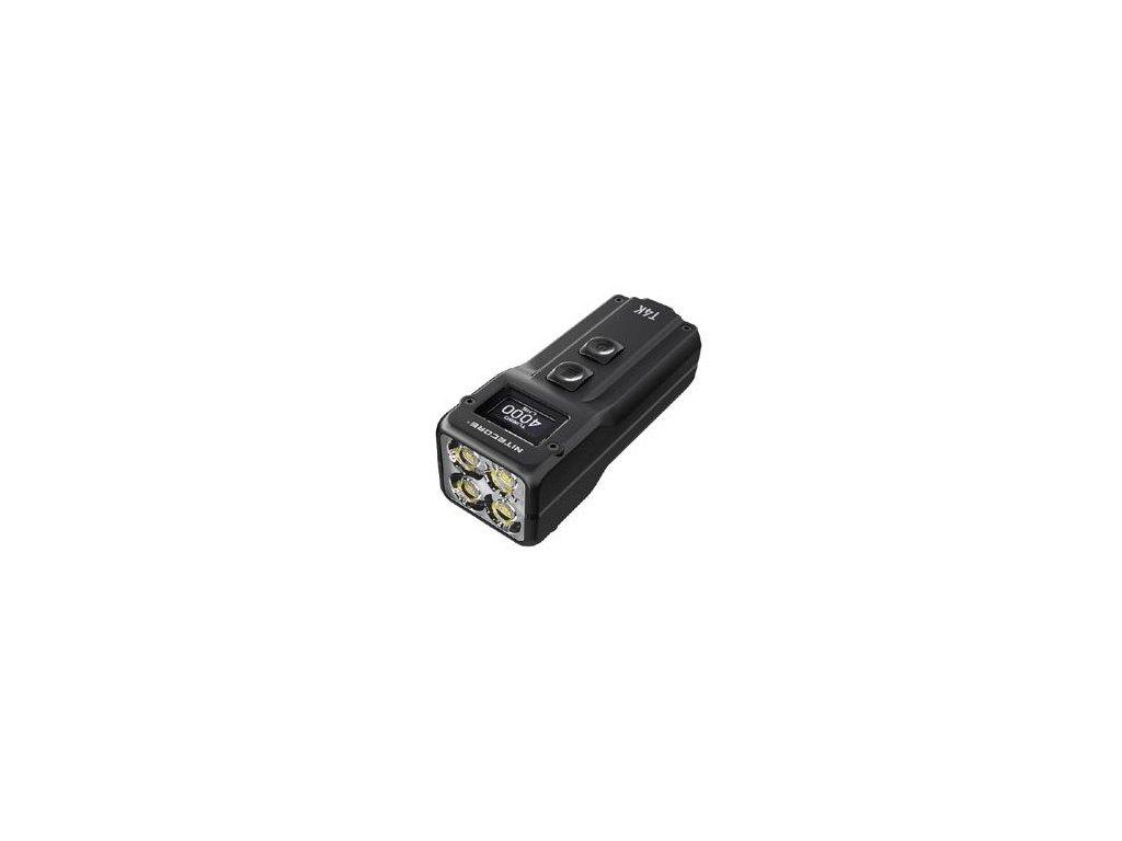 Nitecore -  Kompaktná LED Kľúčenka NITECORE T4K