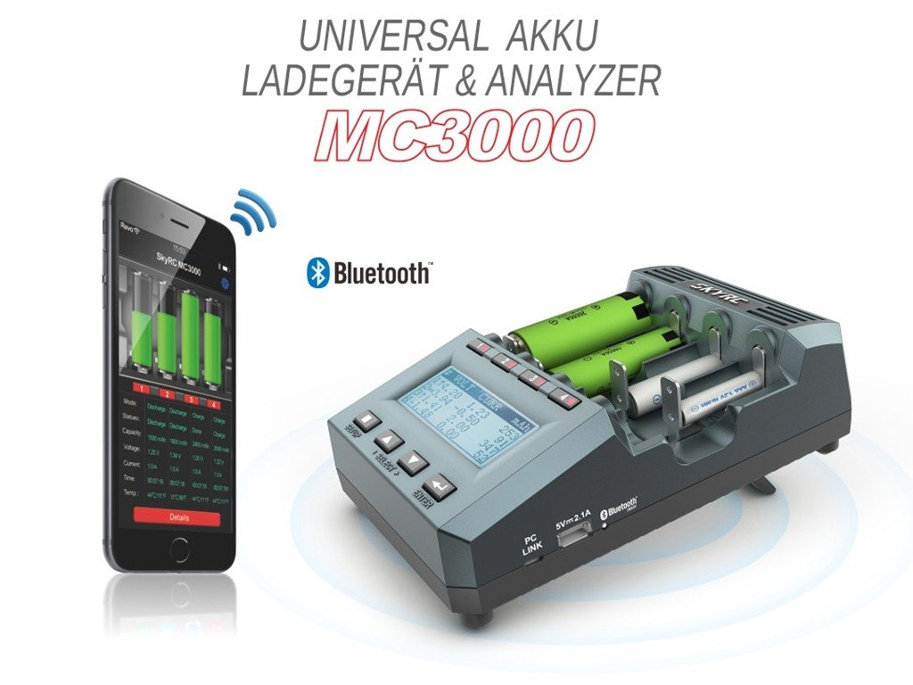 SkyRC MC3000 Universall Analyse Ladegeraet