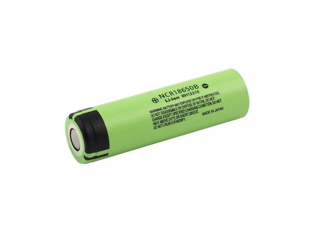 Panasonic -  Akumulátor PANASONIC NCR18650B - 18650, 3400 mAh, Flat Top, bez ochrany