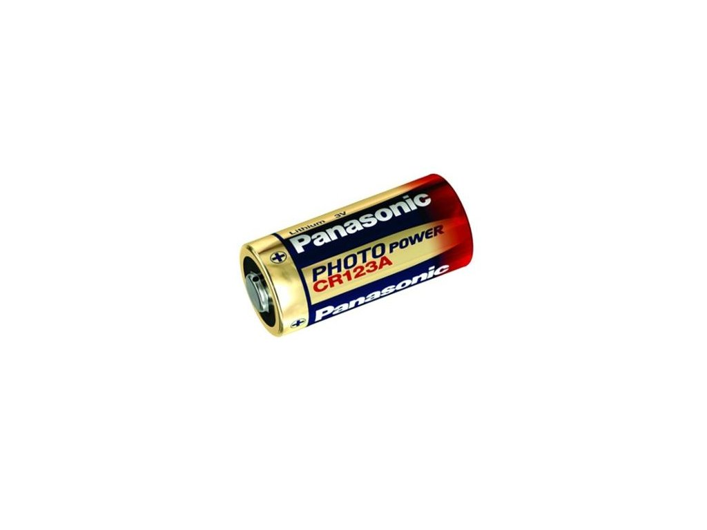 Panasonic -  Líthiová batéria Panasonic CR123A PowerPhoto 1600mAh