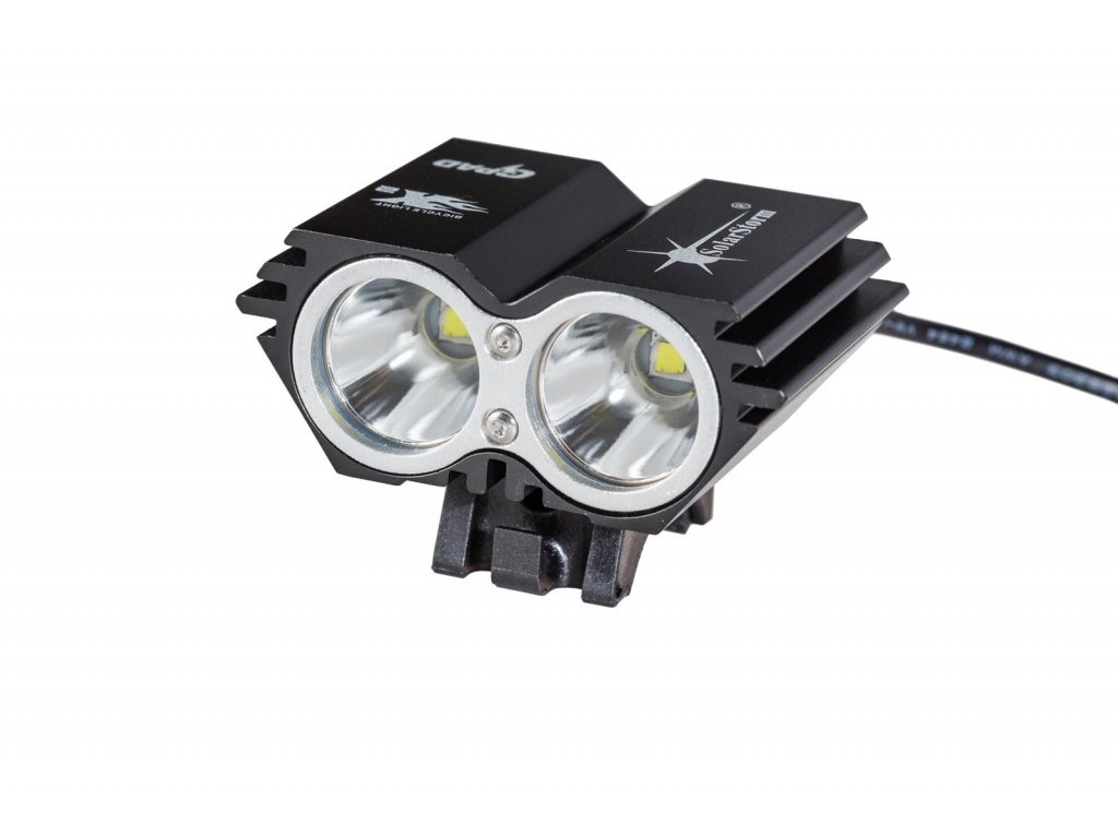 ShenZhen BlackShadow Technology Co.,Ltd. -  BlackShadow SolarStorm X2 2*CREE LED  XM-L2 4*18650 set