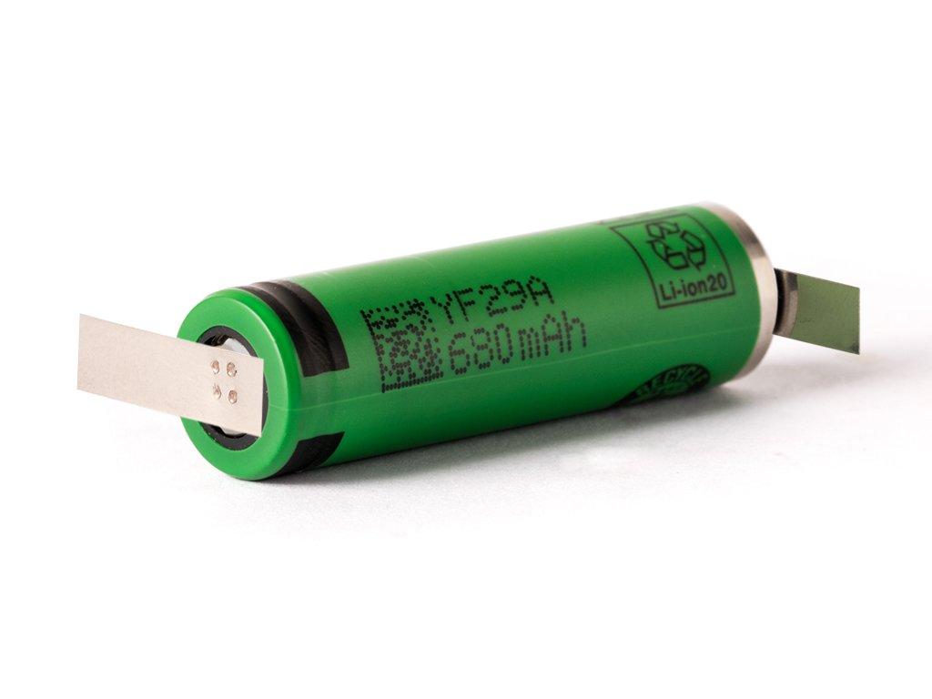 Sony -  Akumulátor SONY US14500V - 14500 (Li-ion) 680 mAh, Flat Top, bez ochrany