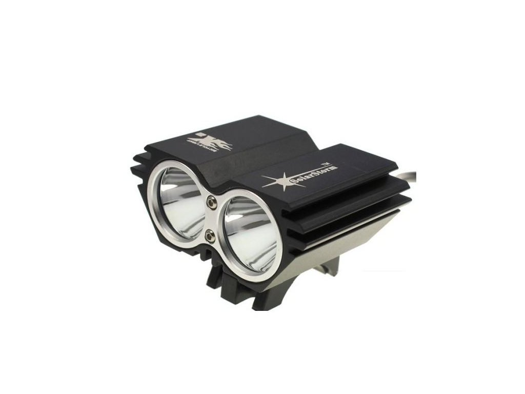 ShenZhen BlackShadow Technology Co.,Ltd. -  SolarStorm X2 Neutral White 2*CREE  XM-L2 4*18650 set
