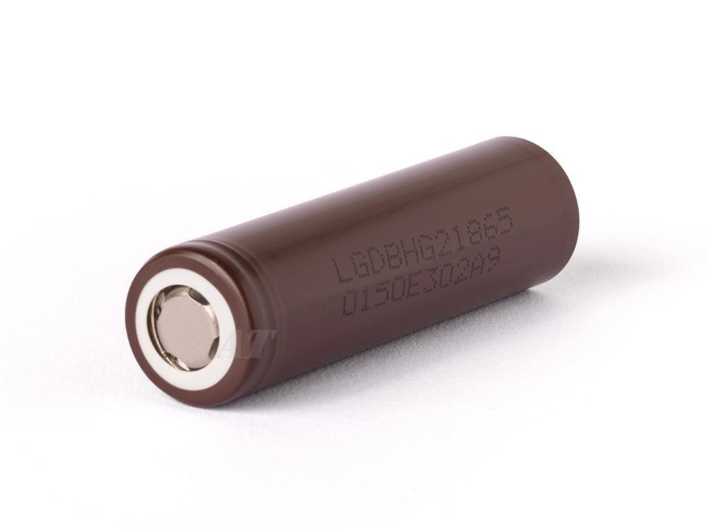 LG Chem -  Akumulátor LG CHEM INR18650HG2 - 18650, 3000 mAh, Flat Top, 20A, bez ochrany