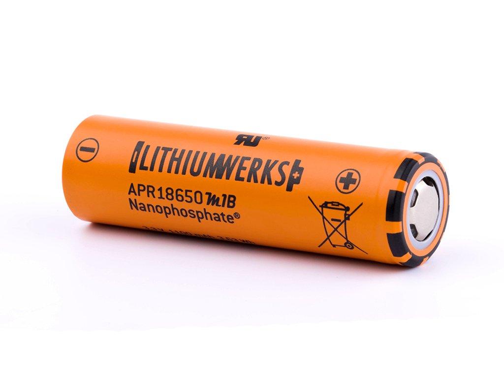 Lithium Werks APR18650M1B 1100mAh 3 2V 3 3V LiFePo4 Akku