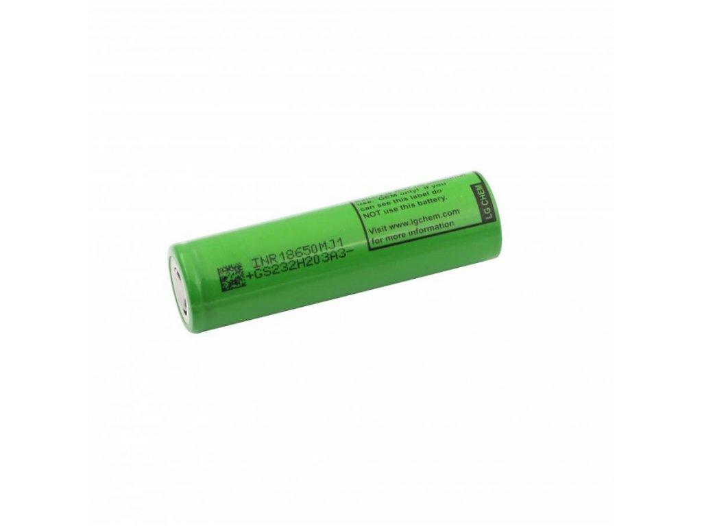 LG Chem -  Akumulátor LG CHEM INR18650MJ1 - 3500 mAh, Flat Top, 3.7V, bez ochrany, 10A
