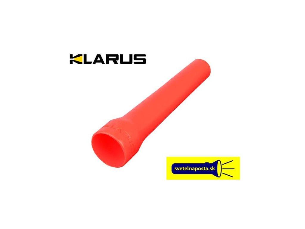 Klarus -  Diffuserový kužeľ KLARUS dopravný 32mm červený - Vysoko elastický