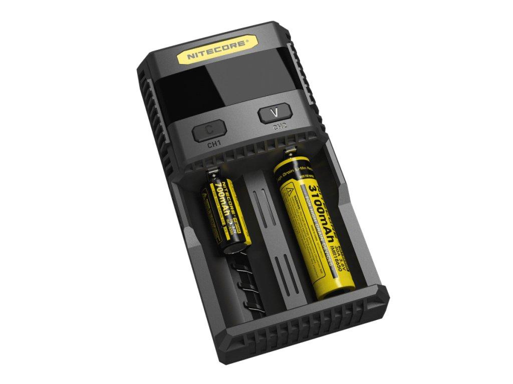 Nitecore -  NITECORE SC2 3A Inteligentná rýchlonabíjačka USB výstup