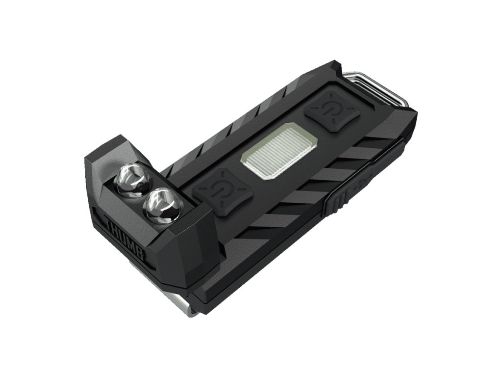 Nitecore -  USB Nabíjateľná LED Kľučenka NITECORE THUMB s dvomi LED