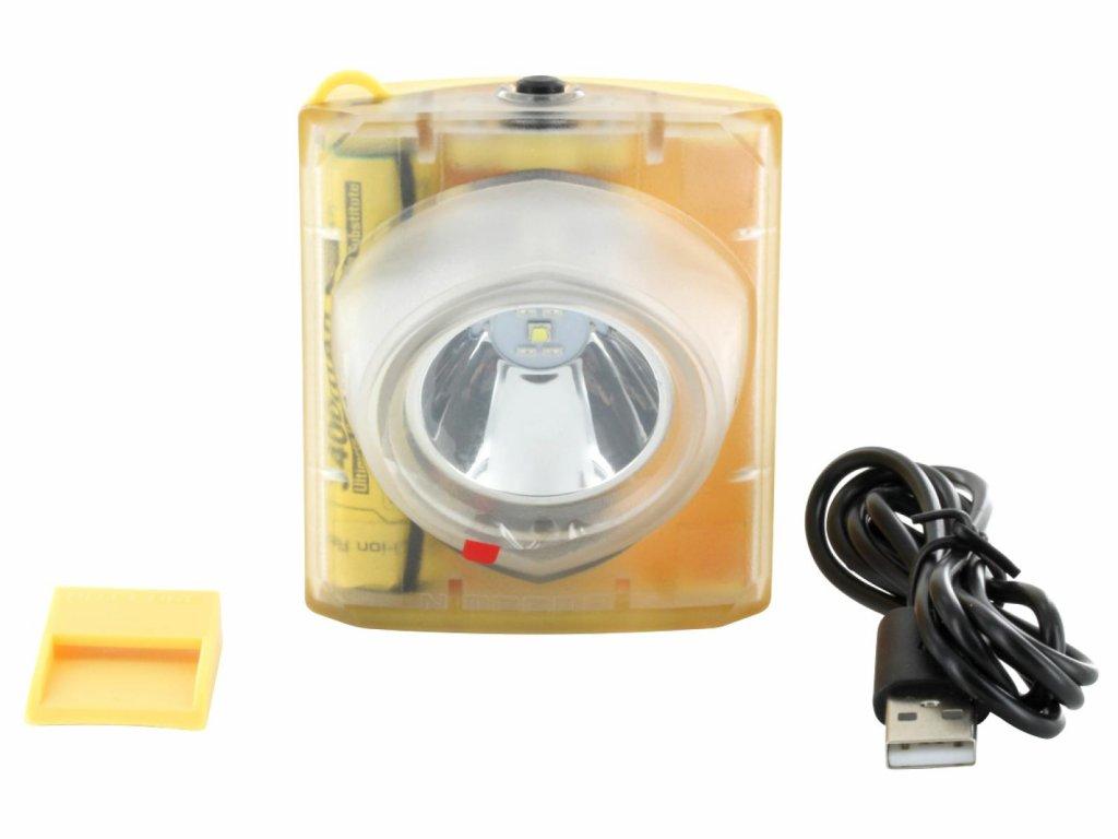 Nitecore -  Odolná nabíjateľná LED Čelovka NITECORE EH1S (260 LM)