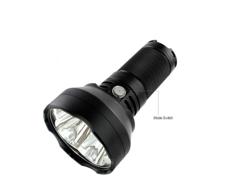 ThruNite -  Nabíjateľná LED Baterka THRUNITE - TN40 (4450 lumenov)