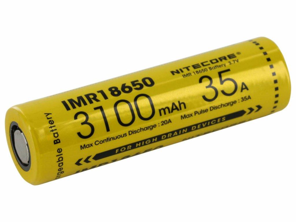 Nitecore -  Akumulátor NITECORE - IMR18650, 3100MAH, 35A