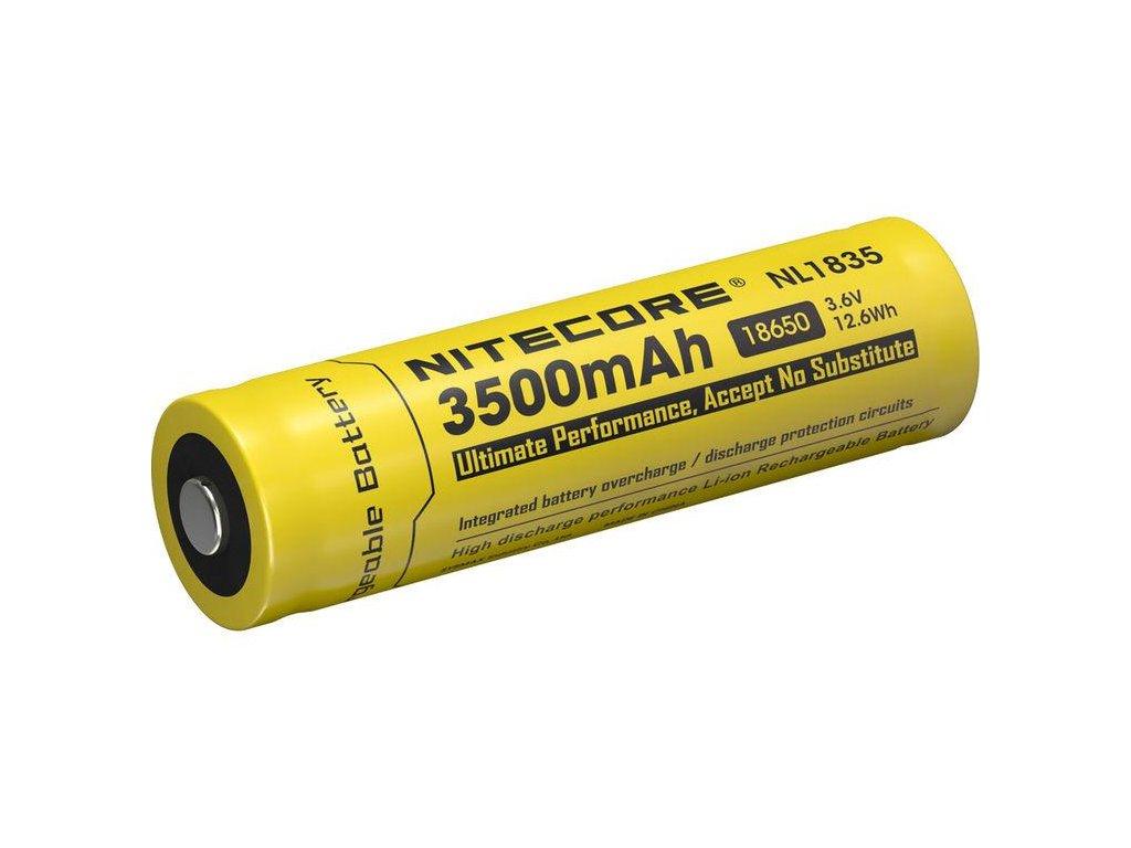 Nitecore -  Akumulátor NITECORE NL1835 - 18650, 3500 mAh, chránený