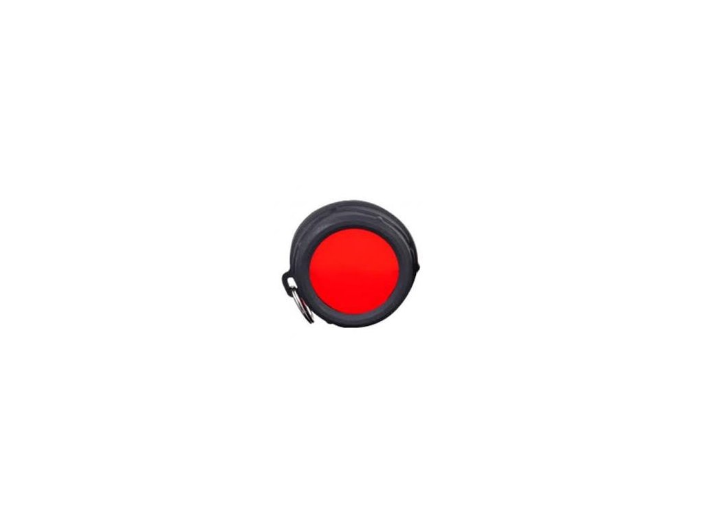Klarus -  Filter KLARUS FT30 (červený) pre svietidla KLARUS XT30/XT30R