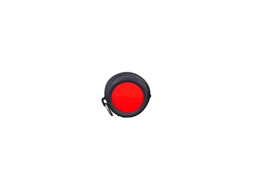 Klarus -  Filter KLARUS FT11 (červený) vhodný pre LED baterky KLARUS