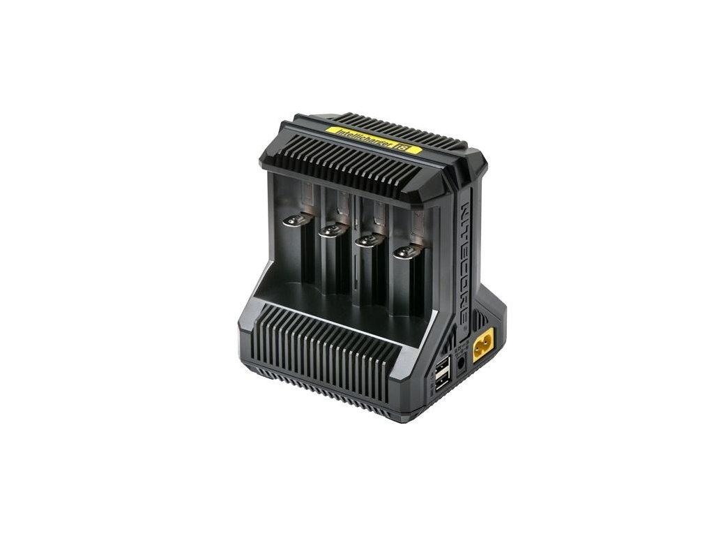 Nitecore -  NITECORE i8 - Inteligentná rýchlonabíjačka ktorá vám nabije 8 akumulátorov súčasne